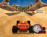 Car and Driver Presents Grand Tour Racing '98 PlayStation Egypt, driving through sphinx alley