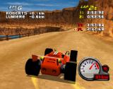 Car and Driver Presents Grand Tour Racing '98 PlayStation Egypt, view distance in this level is pretty good