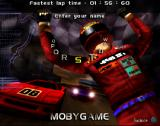 Car and Driver Presents Grand Tour Racing '98 PlayStation Fastest lap time, enter your name