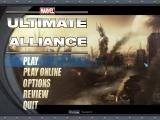 Marvel Ultimate Alliance Windows Title screen