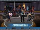 Marvel Ultimate Alliance Windows Hero selection screen: certain heroes need to be unlocked first