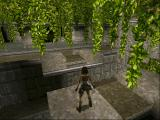 Tomb Raider DOS And how the heck do these vines grow without sunlight ?