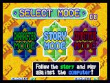 Twinkle Star Sprites Neo Geo Mode selection screen