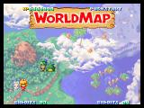 Twinkle Star Sprites Neo Geo Map of the game world