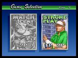 Neo Turf Masters Neo Geo Game mode selection