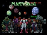 Galaxy Fight: Universal Warriors Neo Geo select your fighter