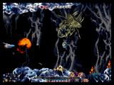 Pulstar Neo Geo Flying in the underwater cave.