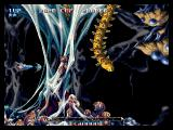 Pulstar Neo Geo A large worm-like enemy