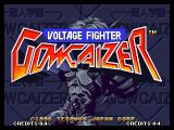 Voltage Fighter Gowcaizer Neo Geo Title screen
