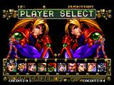 Voltage Fighter Gowcaizer Neo Geo Player selection
