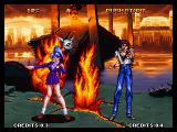 Voltage Fighter Gowcaizer Neo Geo Before they change into their combat gear.