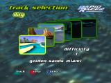 Turbo Prop Racing PlayStation The available tracks, each one harder than the one before...
