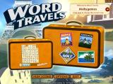 Word Travels Windows Main menu