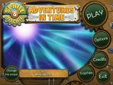 Sprill and Ritchie: Adventures in Time Windows Main menu