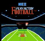 NES Play Action Football NES Title Screen