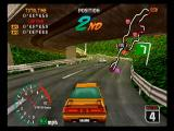 High Velocity: Mountain Racing Challenge SEGA Saturn The second course features lots of cross-over track.