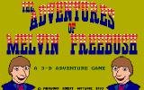 The Adventures of Melvin Freebush DOS Title screen
