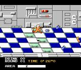 Metro Cross NES Gameplay