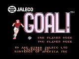 Goal! NES Title screen