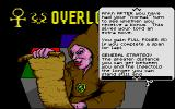 Overlord Atari ST Part of the instructions