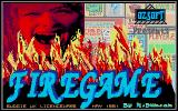 Firegame Atari ST Title screen