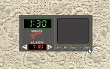 Teresa: House Guest DOS Adjusting alarm clock