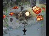 Soviet Strike SEGA Saturn Shooting helicopters is easy when they are on the ground.