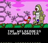 Cosmic Spacehead Game Gear Wilderness and funny monster