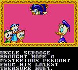Deep Duck Trouble starring Donald Duck Game Gear Intro