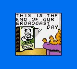 Garfield: Caught in the Act Game Gear Intro