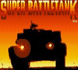 Garry Kitchen's Super Battletank: War in the Gulf Game Gear Title screen