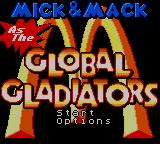 Mick & Mack as the Global Gladiators Game Gear Title