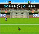 Super Goal! 2 SNES The blue circles equal a scored goal