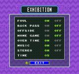 Super Goal! 2 SNES Exhibition options