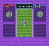 Super Goal! 2 SNES Coin toss