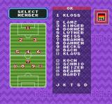 Super Goal! 2 SNES Team roster