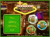 Mysterious City: Vegas Windows Main menu