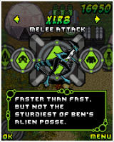 Ben 10: All Out Attack! J2ME Switching between aliens