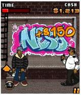 Hip Hop Immortals J2ME The Graffiti Minigame