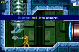 Metroid: Zero Mission Game Boy Advance Receiving a map of the area