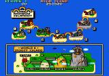 Bubble Bobble also featuring Rainbow Islands DOS Map of Insect Island [Rainbow Islands Enhanced]