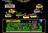 Bubble Bobble also featuring Rainbow Islands DOS Map of Monster World [Rainbow Islands Enhanced]