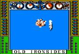 Old Ironsides Apple II A direct hit to the magazine triggers a series of explosions.