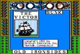Old Ironsides Apple II The white sailed ship is victorious!