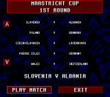 Championship Soccer '94 SNES Maastricht Cup
