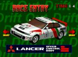 Neo Drift Out: New Technology Neo Geo CD Mitsubish Lancer Evo