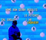 The Sporting News Baseball SNES Home run derby results