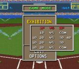 The Sporting News Baseball SNES Choose  the number of players