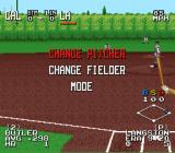The Sporting News Baseball SNES In game options