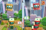 Tower Bloxx Deluxe 3D iPhone Two player mode takes place on one screen
